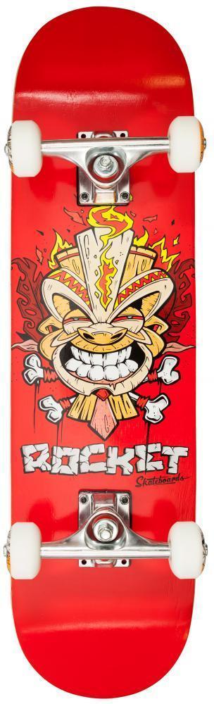 Rocket Mini Tiki Complete Skateboard - Fire